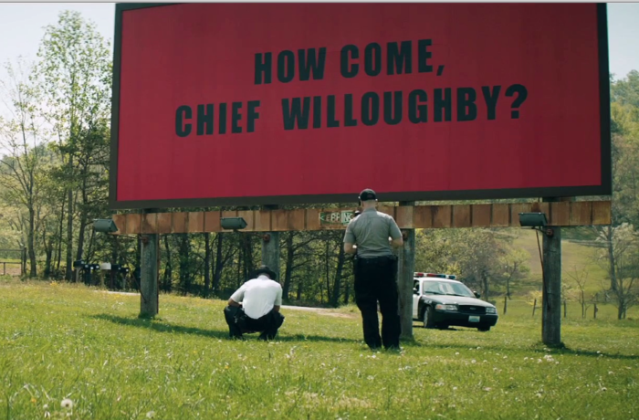 MOVIE REVIEW; THREE BILLBOARDS OUTSIDE EBBING, MISSOURI