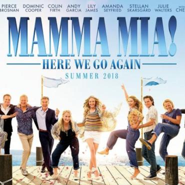 MAMMA MIA! HERE WE GO AGAIN; MOVIE REVIEW