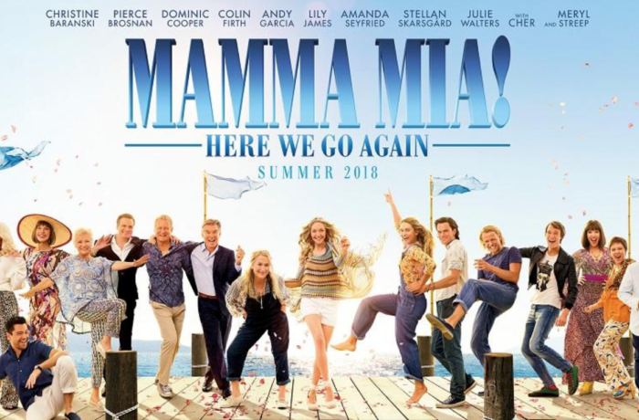 MAMMA MIA! HERE WE GO AGAIN; MOVIE REVIEW