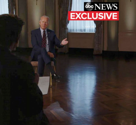 """RATINGS STRONG FOR ABC'S BIDEN/HARRIS INTERVIEW """"THE TICKET; THE FIRST INTERVIEW"""""""
